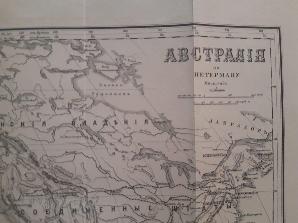 карта австралия по петерману