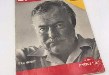 Журнал LIFE. Эрнест Хэмингуэй. Старик и море. 1.9.1952