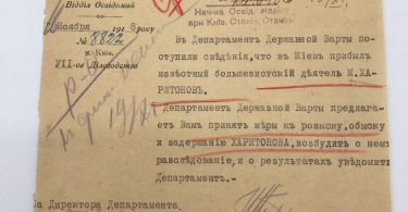 Оперативная сводка спецслужб УНР. 1918 год