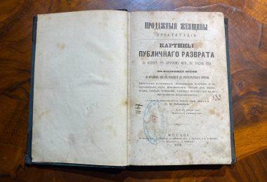 Продажные женщины. Проституция Картины публичного разврата. 1870 год.