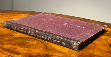 Коллекция византийского и древнерусского орнамента. [на немецком языке] Г. Гагарин 1887 год